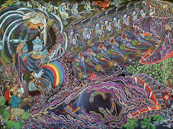 Psychedelic Spirit Paintings Alex Grey Art Gallery: The Spirit Molecule – DMT And Ayahuasca